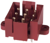 Rectangular Connectors - Headers, Male Pins -- A30066-ND