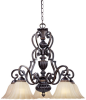 6 Light Chandelier -- 6UZW(Designers Fountain 94285-SE)