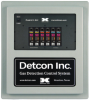 Detcon Gas Detection Control System, NEMA 4X, 6 Channel -- 610-N4X