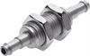 SCN-PK-3 Barbed bulkhead connector -- 11972