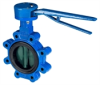 Butterfly Valves with Handlevers -- VFY-LH/WH -- View Larger Image