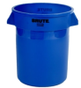 10 Gallon Blue Rubbermaid® Brute® 17-1/8