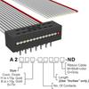 Rectangular Cable Assemblies -- A2MXS-1406G-ND -Image