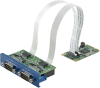 2 Port Isolated RS-422/485 mPCIe -- PCM-24D2R4 - Image