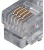Flat Modular Cable, Crossed RJ11 (6x4) / RJ11 (6x4), 10.0 ft -- TDC210 -Image