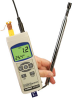 Hot Wire Anemometer with Real Time Data Logger -- HHF-SD1