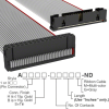 Rectangular Cable Assemblies -- A3BKB-3418G-ND -Image