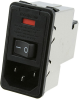 Power Entry Connectors - Inlets, Outlets, Modules -- 5-6609107-8-ND -Image
