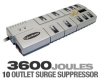 CyberPower 1080 Surge Suppressor - 10 Outlets, 3600 Joules, -- 1080