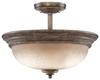 5318-299 Semi-Flush Mts.-Bowl Style -- 345815