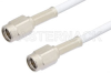 SSMA Male to SSMA Male Cable 12 Inch Length Using RG188 Coax -- PE33700-12 -Image