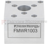 WR-62 Waveguide Circulator with 18 dB Min. Isolation from 12.4 GHz to 18 GHz using Cover Flange in Aluminum -- FMWCR1003 -Image