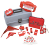 Combination Lockout Toolbox With Brady Safety Padlocks & Tags -- 99684