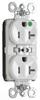 Duplex/Single Receptacle -- PTTR8300-W