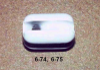 Porcelain Airplane Insulator -- 6-74 - Image