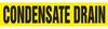 Condensate Drain Pipe Marker -- SGN718 - Image