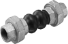 Threaded Union Rubber Expansion Joints - Image