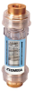 Clear In-Line Flowmeters -- FLC Series