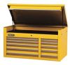 Tool Chest,50 In,10 Dr,Yellow -- 5RRK2