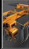 Series 3 Underhung Motorized Crane -- CUMH-3-0250