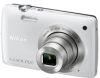 Nikon CoolPix S4300 White 16mp 6x (26-156mm) Optical Zoom Digital Camera - 3in LCD Touchscreen Monitor -- 26307