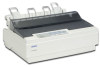 Epson LX-300+ II Impact Printer - Print speed at 330 cps, Ep -- C11C640001