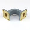 WR-62 Waveguide E-Bend Commercial Grade Using UG-419/U Flange With a 12.4 GHz to 18 GHz Frequency Range -- SMF62EB -Image