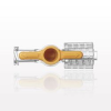 1-Way Stopcock, Female Luer Lock, Male Luer with Spin Lock -- 99522 -Image