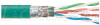 Cat. 5E, Double Shielded, Outdoor/Industrial, Hi-Flex, FR-TPE Jacket, Teal, 26AWG Str, 1,000FT -- TFDL5088