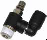 Flow Control Regulator Valves with Swivel Outlet -- FCMS731 Mini Swivel Outlet Flow Control