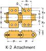 Plastic Sleeve Chain Attachment -- CS2052D 1L K-2 -Image