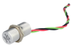 103SR Series Unipolar Hall-Effect Digital Position Sensor with 15/32-32 UNS-2A cylindrical aluminum threaded housing; three hex nuts; 152 mm [6.0 in] 24-gauge stranded lead wires, irradiated polyethyl -- 103SR13A-13