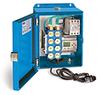PurgeX Infrared Sensing Lubrication System with 8 Air-Operated PurgeX Pumps, Nema 12 Enclosure, 100-240VAC 50/60Hz -- B3651-108