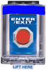 Entry-Guard™ Access Control Switches, Flush Mount Weatherproof -- ETG-RE-FC