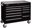 Rolling Workstation,50 In,10 Dr,Black -- 5RRL1