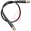 Cable Assy; 36 in.; 26 AWG; RG174/U; Non Booted; Black Jacket; UL Listed -- 70197960 - Image