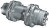 GERWAH? Ring-flex? Coupling with Standard Spacer, Mounting with RINGFEDER Locking Assembly -- LHD