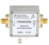 4 dB NF, 1 MHz to 3 GHz, Low Noise Broadband Amplifier with 22 dBm, 21 dB Gain, 35 dBm IP3 and SMA -- FMAM3309 -Image