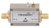 14.5 dB Gain Block Amplifier Operating From 10 MHz to 6 GHz with 14 dBm P1dB and SMA -- FMAM8001 -Image