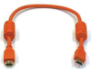 HDMI Cable,Std Speed,Orange,1.5ft,28AWG -- 5YMG8