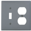 Combination Wallplates -- 80705-GY - Image