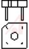 BRIDGE RECTIFIER - FULL WAVE SINGLE PHASE 100V 8A -- 70214800