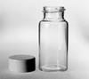 BOTTLE - Scintillation Vial, 20 mL, White Urea Screw Cap, (Caps Separate) Borosilicate Glass, Kimble 74510, 22, Urea/Metal foil -- 1144870