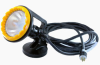 120 Volt Light Magnetic Mount - Polyurethane - 25 foot 6/3 Cord - Blasting Light - Decontamination -- WAL-M-PUR-120V-25