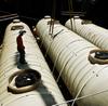 Double-Wall Fuel Storage Tank -- 6' Diameter