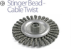 Knotted Wire Wheel Brush -- BQTC-6 - Image