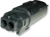 Molex 19419-0007 MX150L 2-Pin Connector Plug, 16-14 AWG -- 38350 -- View Larger Image