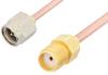 SMA Male to SMA Female Cable 48 Inch Length Using RG405 Coax -- PE3824-48 -Image
