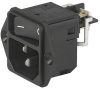 IEC Appliance Inlet C14 or C18 with Line Switch 1- or 2-pole -- DC11 - Image