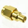 MCX Jack to SMA Male (Plug) Adapter, High Temp, 1.25 VSWR -- SM4796 - Image